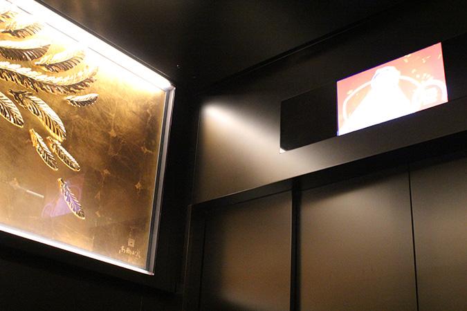 スカイツリーのエレベーターの中